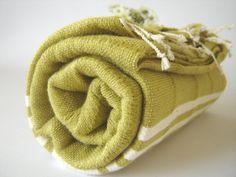 TURKISH BATH TOWEL  Ecofriendly Peshtemal Natural by TheAnatolian, $28.00