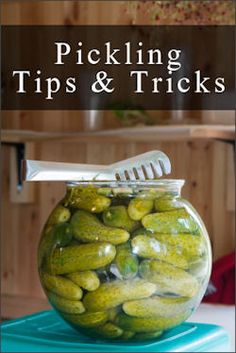 Common Causes Of Poor Quality Pickles: {Tip Sheet} - If you plan on doing any cucumber pickling this year, here's a handy troubleshooting tip sheet listing common problems and why they happen along with some tips I found in an old cookbook. I've also included a homemade spice blend recipe at the bottom.