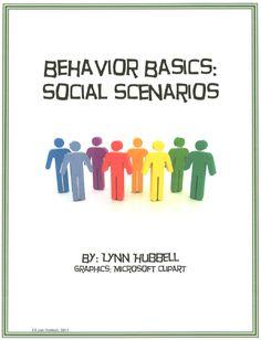"FREE MISC. LESSON - ""Behavior Basics: Social Scenarios"" - Go to The Best of Teacher Entrepreneurs for this and hundreds of free lessons.  http://thebestofteacherentrepreneurs.blogspot.com/2012/12/free-misc-lesson-behavior-basics-social.html"