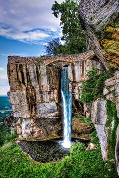 Lover's Leap in Chattanooga, Tennessee. USA.