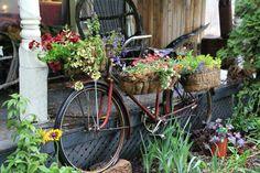 Repurposed bike