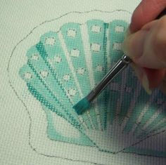 Paint your own needlepoint patterns