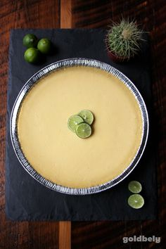 This is what a Key Lime Pie shipped from FL to NY looks like, IRL! get yours on goldbely.com