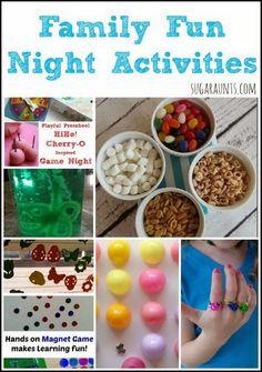 Ideas for Family Fun Night