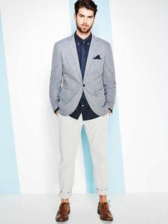 Estilo. fashion styles, men style, springsumm 2014, men fashion, homm éléganc, men apparel, éléganc vestimentair