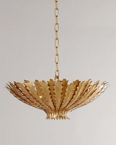 Hampton Pendant Light by AERIN at Horchow.