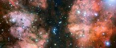 sky, nurseries, nebulas, peace, scorpion, star, cloud, ngc 6357, larg telescop