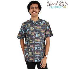 Mens Cotton Hawaiian