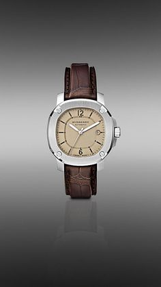 The Britain BBY1201 43mm Automatic watch from Burberry