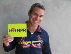 Andy Cohen Hearts NPR