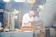 Spanish guitar maker, Granada by Eleazar Lázaro Guerra