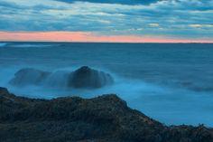 Crashing Waves at Brenton's Point - Newport RI, Photography
