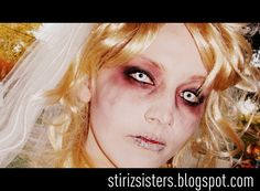 Cool make up for the zombie look