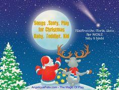 Filastrocche, Storia e Gioco per #Natale con bambini piccoli @buzzmyvideos
