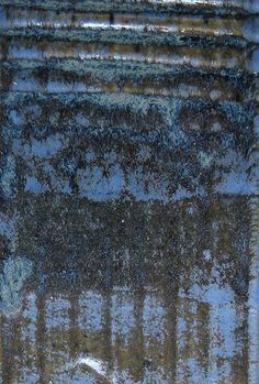 Alison Clausen glaze, light stormy blue