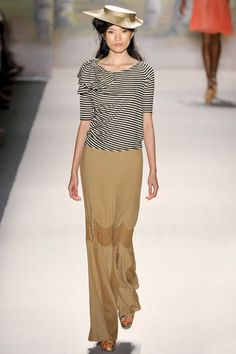 Tracy Reese Spring 2012.  The top.