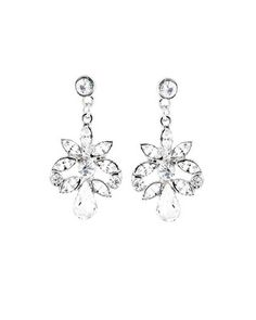 Belle earrings from the Disney's Fairy Tale Weddings Jewels Collection