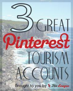 Pinterest for business case studies - 3 examples of organisations using Pinterest for destination marketing and tourism #PinterestCaseStudy #pinterest #pinterestcasestudies
