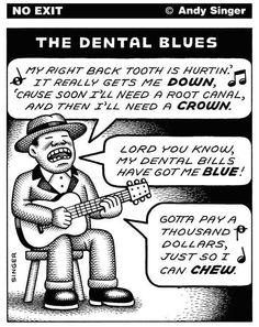 The Dental Blues  #Dentist #lol #music