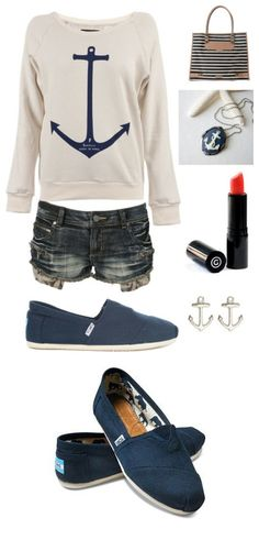 Love this nautical look