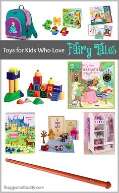 Gift ideas for kids who love fairy tales! ~BuggyandBuddy.com