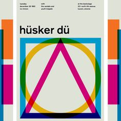 Ahhh! All of these are AWESOME. Stereotype Design: Swiss Modernist Rock Posters