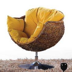 Natural rattan frniture rattan leisure chair rattan chairs rattan chair rattan wicker rattan beanbag rotating basket L-ZZKKO