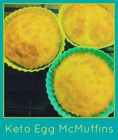 Keto Egg McMuffins