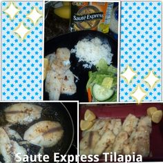 Fast and Easy weeknight meal using Saute Express Lemon Pepper By Land O Lakes! Just 2 ingredients Tilapia and Saute Express. Amazing Taste so flavorful! Check out my review at bzzagent.com!