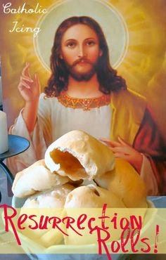 Resurrection Rolls recipe and story. Step by step- how to make them and what to tell your kids. A great Easter tradition for Christian families!