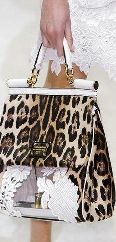 dolce gabbana animal print, fashion, style, accessori, anim print