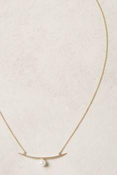 pearl arc, arc necklac