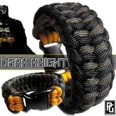 The Dark Knight themed paracord bracelet. Available @ www.paragearz.com
