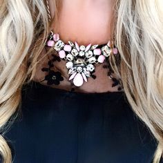 Beautiful #CookieLee #StatementNecklace from Pretti Please blog!
