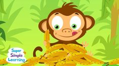 Counting Bananas-Super Simple Songs video