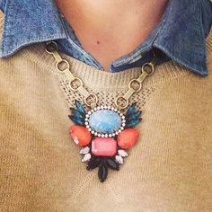 Luxe layering / Elise necklace