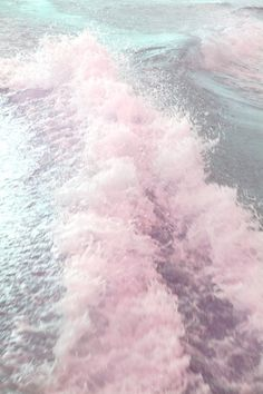 Pretty pink waves.