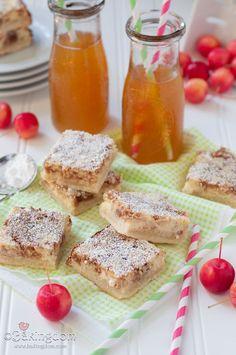 Apple Cider Cheesecake Shortbread Bars from Bakingdom