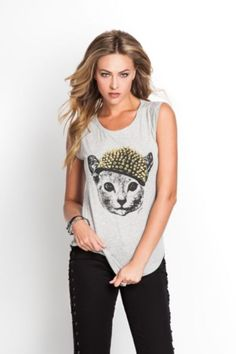 i need this cat shirt. or any cat shirt. why does no one sell cat shirts. I WANT A CAT SHIRT