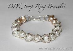 DIY: Jump Ring Bracelet