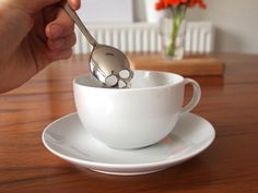 To help reinforce their assertion that sugar is evil, the designers over at Hundred Million designed this wicked Sugar Skull Spoon. Cut from...