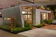 Prefab eco house |   via Eco Friendly Houses