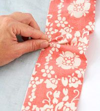 How-to add ruffles to add pizzazz to plain curtain panels