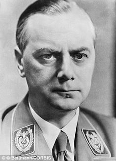Harrowing tales: A diary has been recovered which belonged to Hilter confidant Alfred Rosenberg