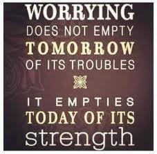 No Worries today