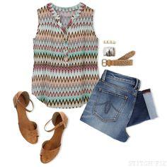 Memorial Day Outfits, Road Trip   LOVE THIS TOP!!!! Get your own personal stylist @ StitchFix  https://stitchfix.com/referral/3503147 Boyfriend Jeans, Stitchfix, Day Outfits, Road Trips, Stitch Fix Boyfriend, Stitch Fix Inspiration, Tank, Shoe, Shirt