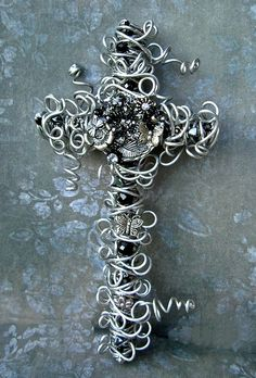 vintage style wall cross