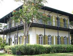 Hemingway house Key West Florida.