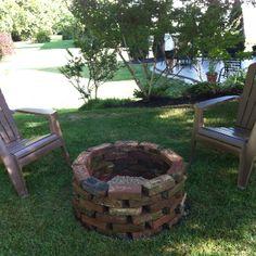 Rock garden and fire pit ideas on pinterest concrete for Cj garden designs