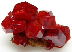 Vanadinite from Mibladen, Morocco